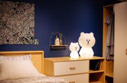 Mr Maria Brown Bear Lamp