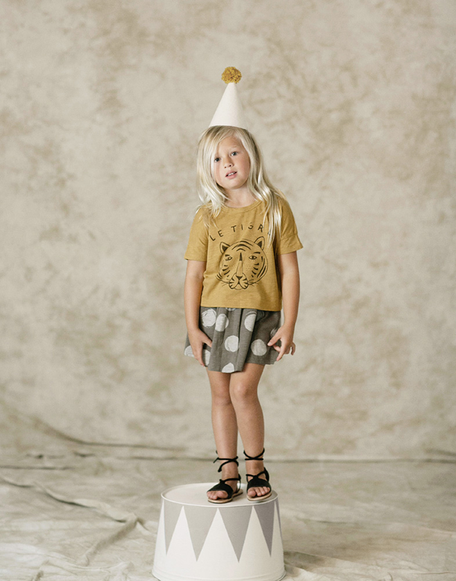 Rylee & Cru welcome to the circus children's clothing collection