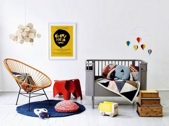 Sebra Kili Cot and Junior Bed grey
