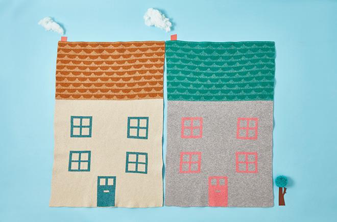 Donna Wilson Mini House blanket