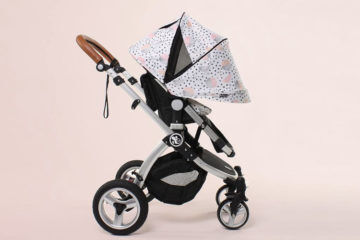 babybee Comet plus 2 in 1 Bassinet & Stroller