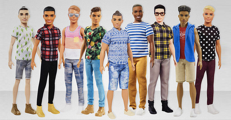 New hipster Ken barbie dolls from Mattel