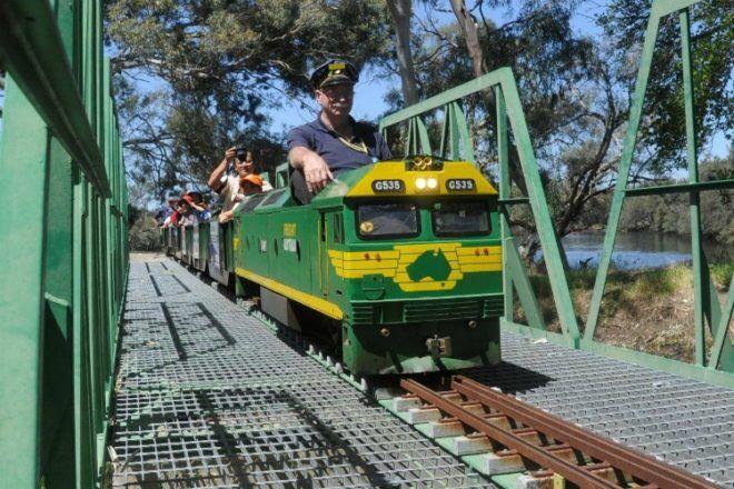 Castedare Miniature Railway Western Australia