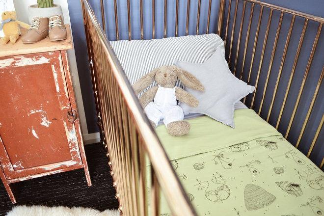 G.Nancy organic cotton cot quilt