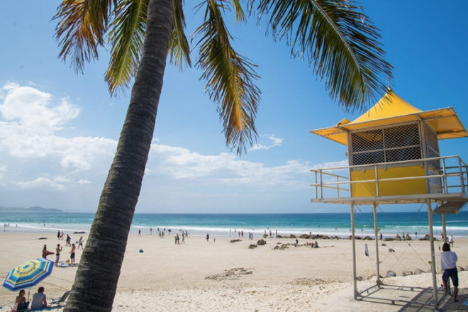 Coolangatta beach gold coast