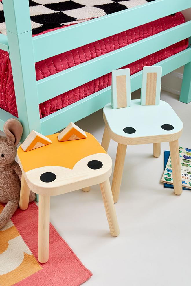 IKEA stool hacks Flisat
