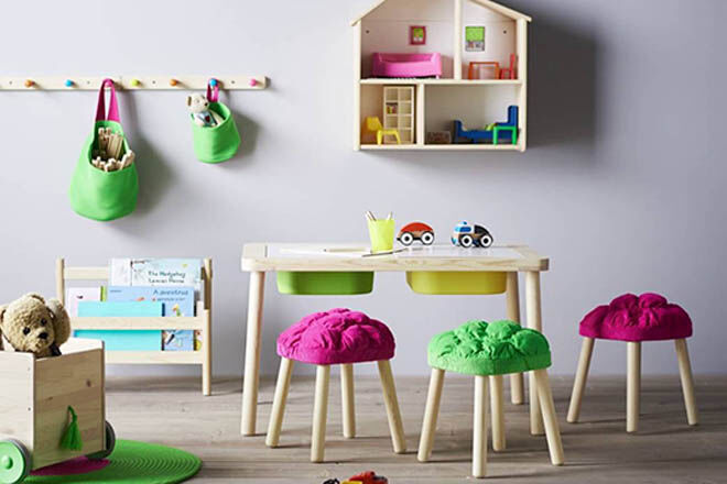 Easy Ikea Stool Hacks And Makeovers For The Nursery Mum