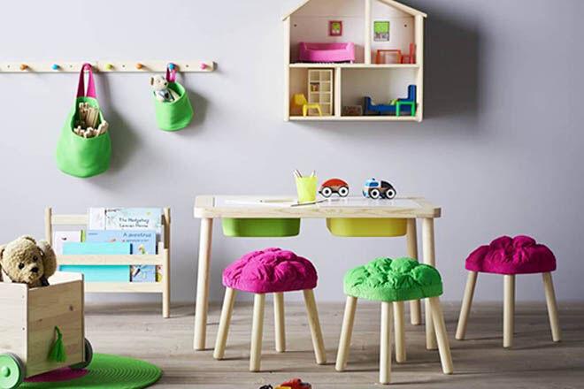 Flisat stools Ikea hacks