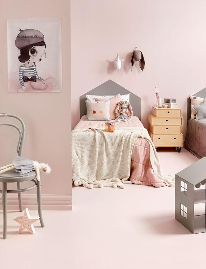 soft pink walls and carpet in pretty girl's bedroom pink children's bedrooms