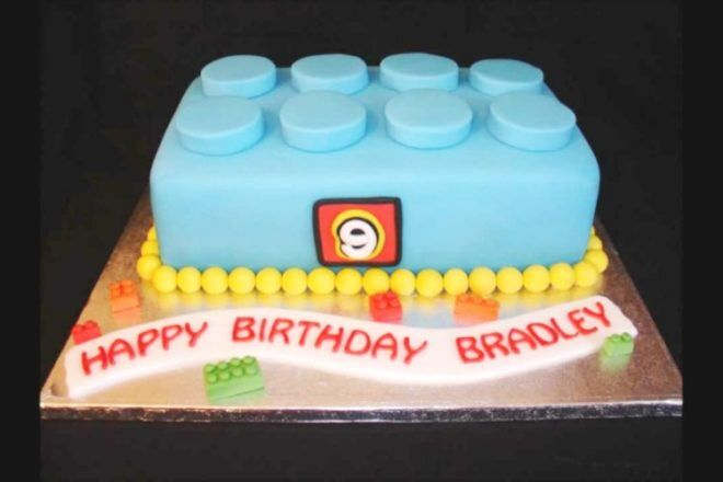 Lego Birthday Cake To Make