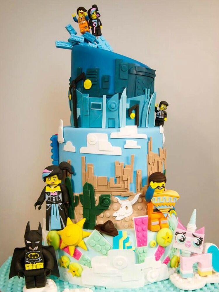 Lego Movie cake