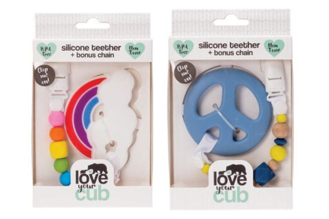 Love Your Cub baby silicone tether ACCC safety recall