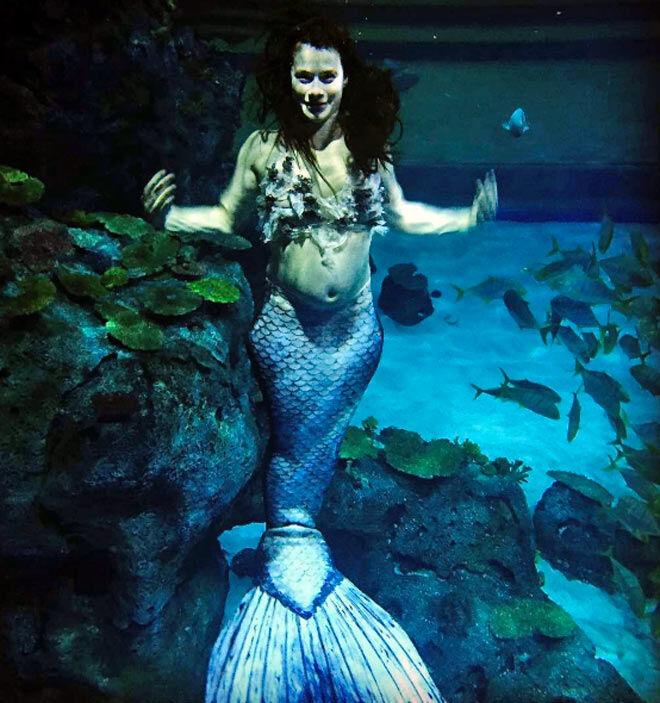 pregnancy photo ideas pregnant mermaid