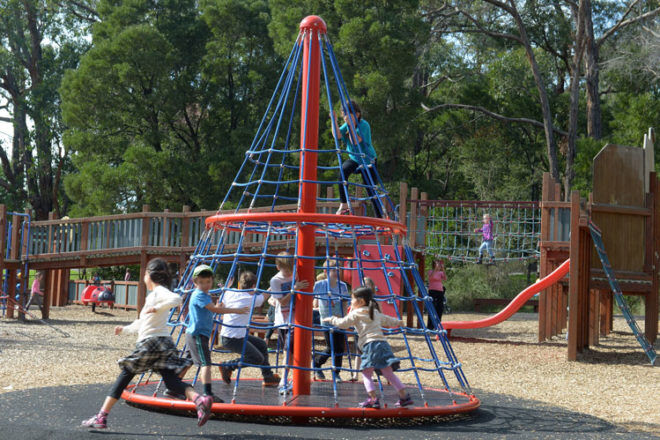 best Melbourne playgrounds Victoria