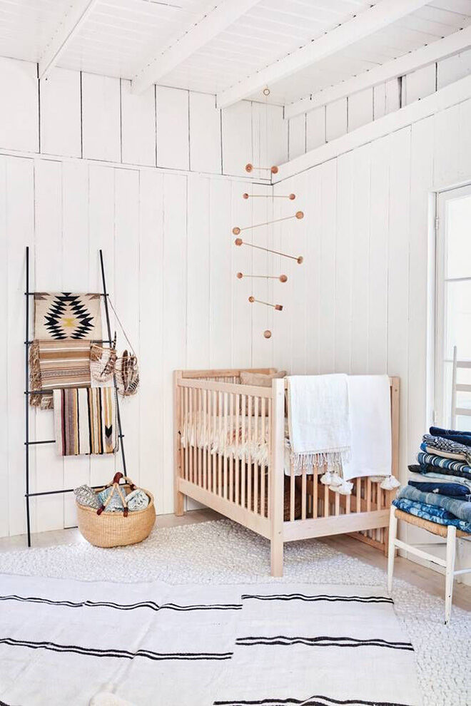 How To Style A Natural Nursery For Baby Mum S Grapevine