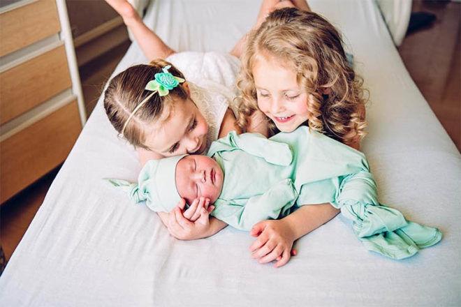 Siblings Meeting Newborn Baby