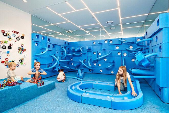 blue room inside Nubo play centre Alexandria NSW