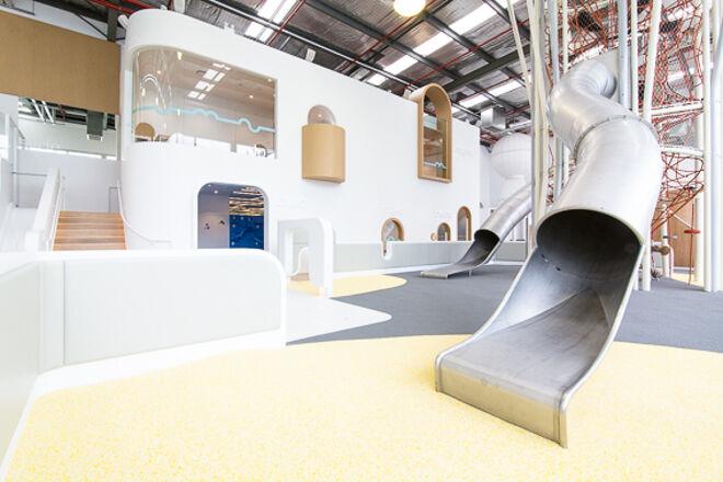 amazing indoor slides Nubo play centre Alexandria NSW