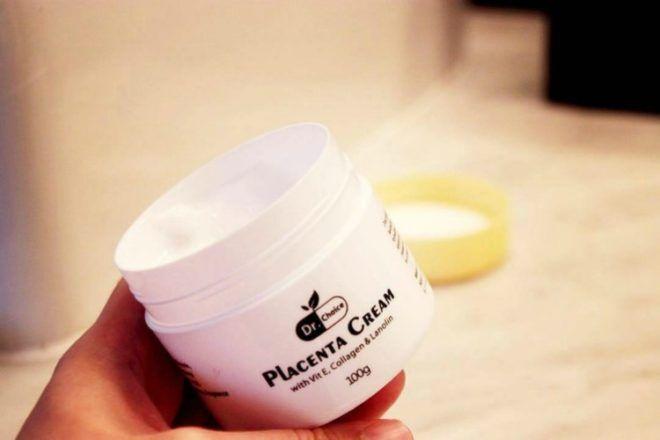 Placenta cream in a jar, things to do with your placenta