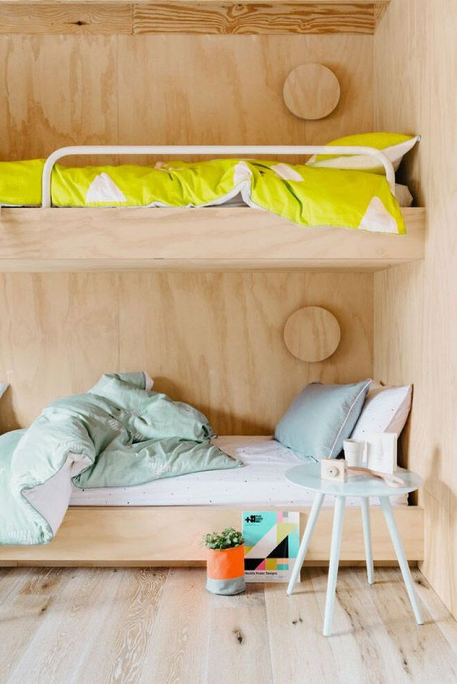 Do It Yourself Home Design: Decor Inspiration: Amazing Plywood Children's Rooms