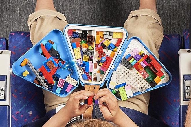 Teebee Toypod travel toy tray