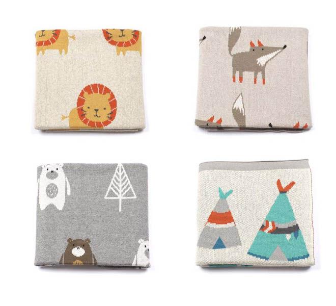 Indus Design baby blankets