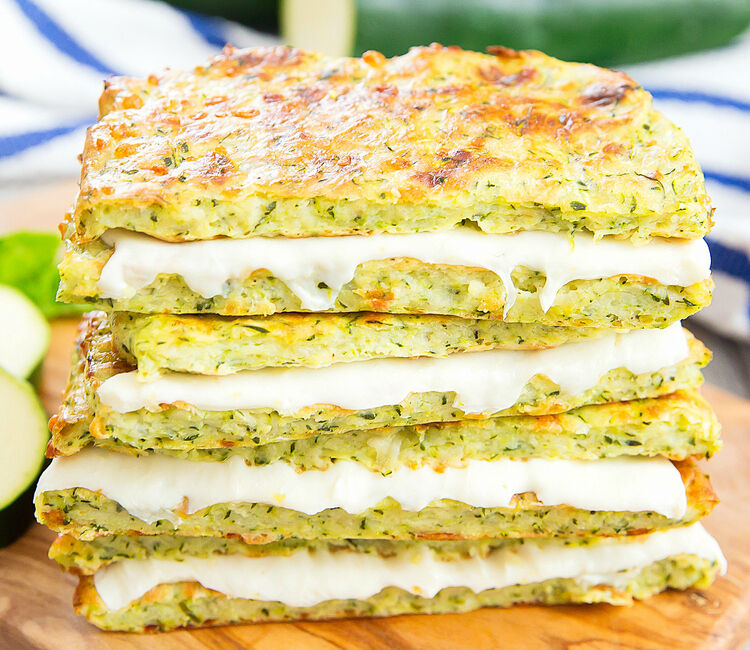 grilled cheese sandwiches with hidden zucchini