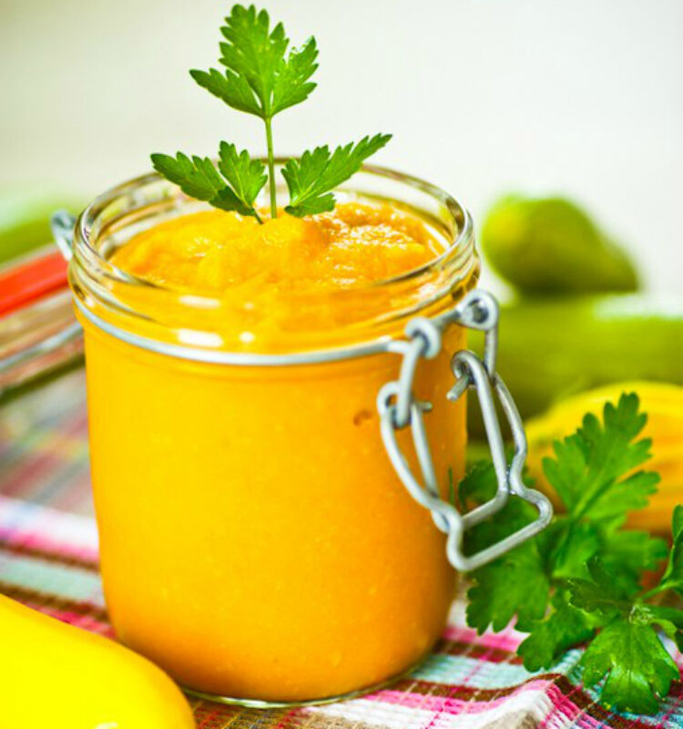 Zucchini Apple and Carrot Puree by Picky Eater