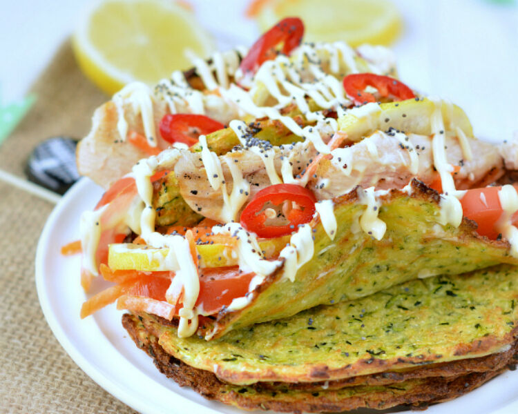 zucchini tortilla wraps by Sweet As Honey