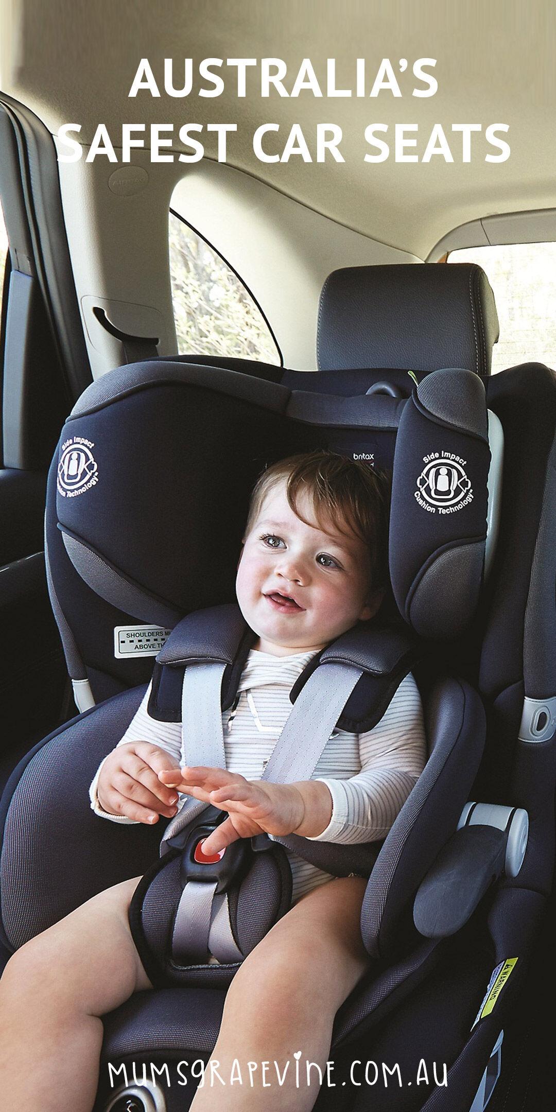 Australia's Safest Car Seats PIN