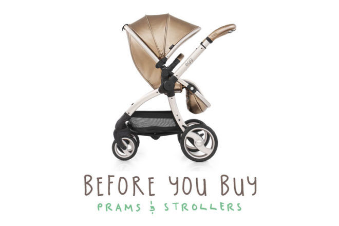 Before you buy a pram