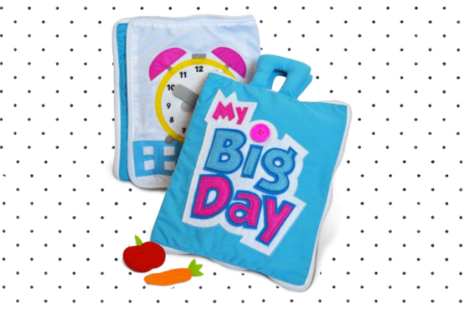 My Big Day out fabric book