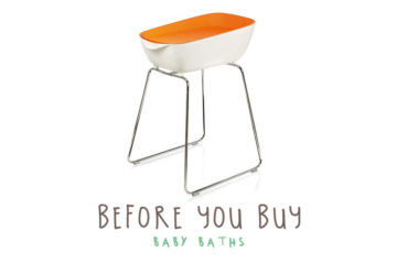 Buying a baby bath and tub