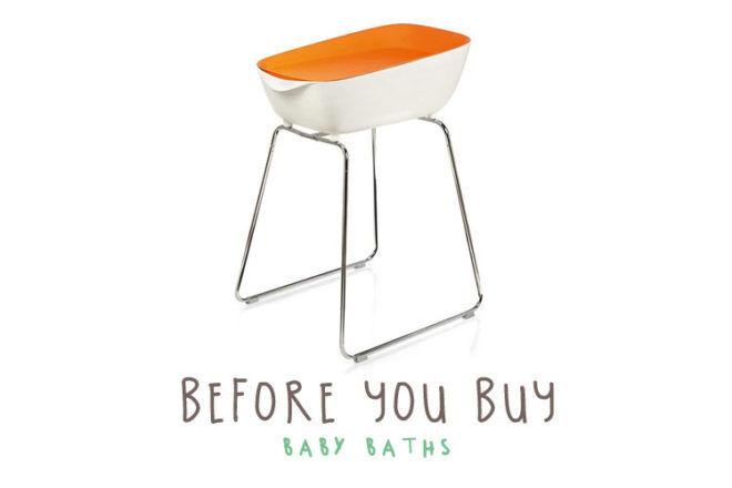 Buying a baby bath and tub