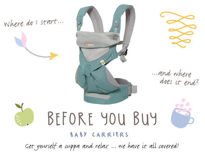 Before you buy guide baby carriers