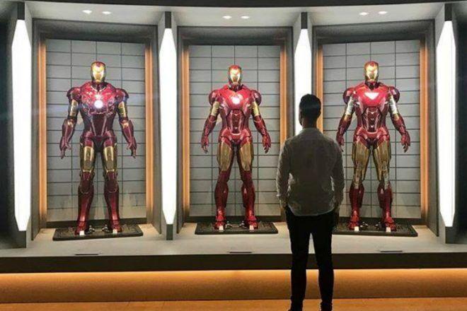 Ironman display at GOMA