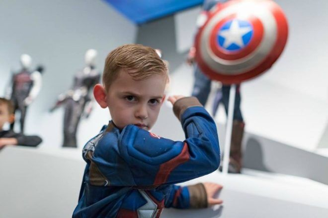 Captain America cosplay at GOMA