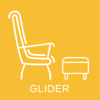 ICON Glider nursing chair