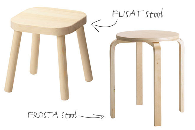 Super Easy Ikea Stool Hacks And Makeovers For The Nursery Mums Ncnpc Chair Design For Home Ncnpcorg