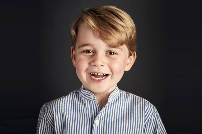 Prince William 4 years old