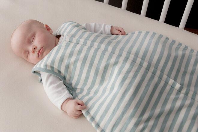 Move baby into own room to sleep - Woolbabe-sleep-bag
