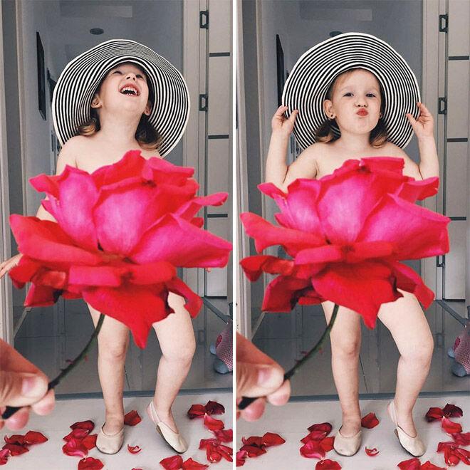 Alya Chaglar double red rose