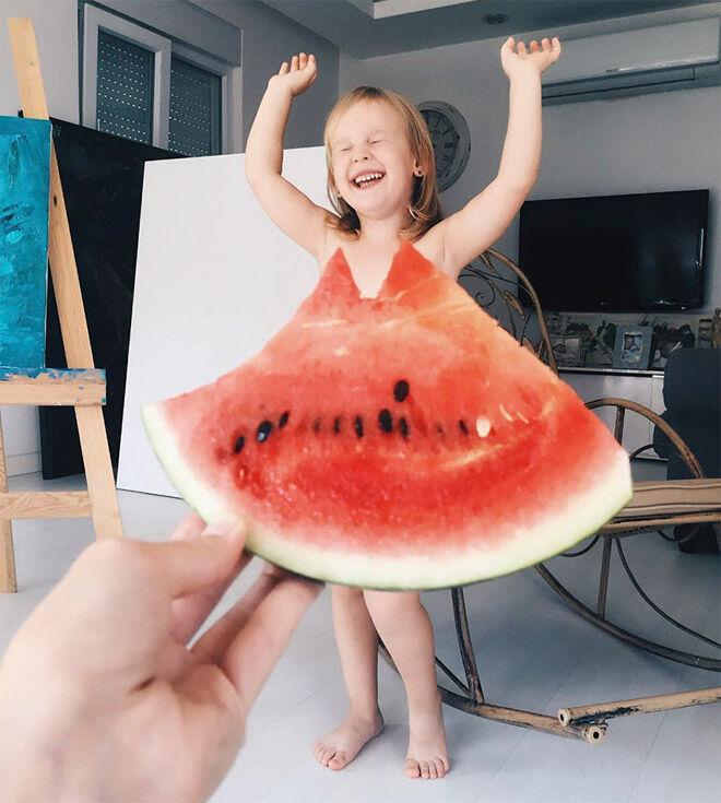 Alya Chaglar watermelon