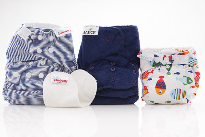 Bambooty cloth nappy trial pack