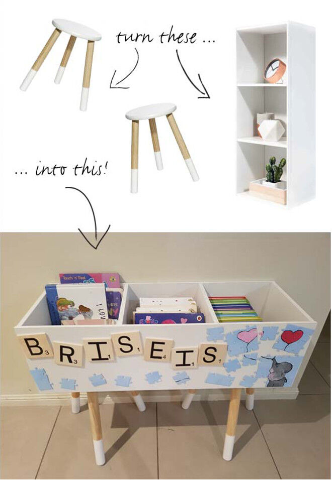 Clever Kmart Hacks For Book And Toy Storage Mum S Grapevine