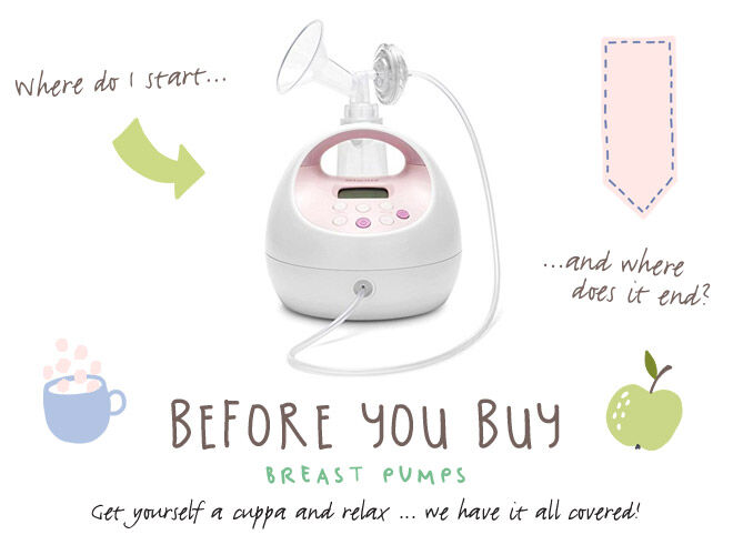 Before you buy Breast Pumps