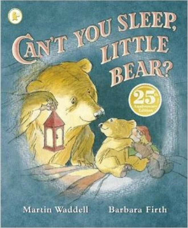 cant you sleep, little bear by martin waddell