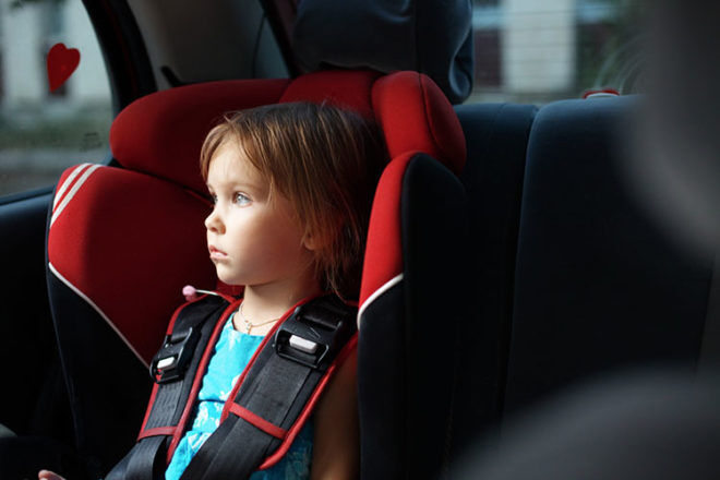 car seat safety test
