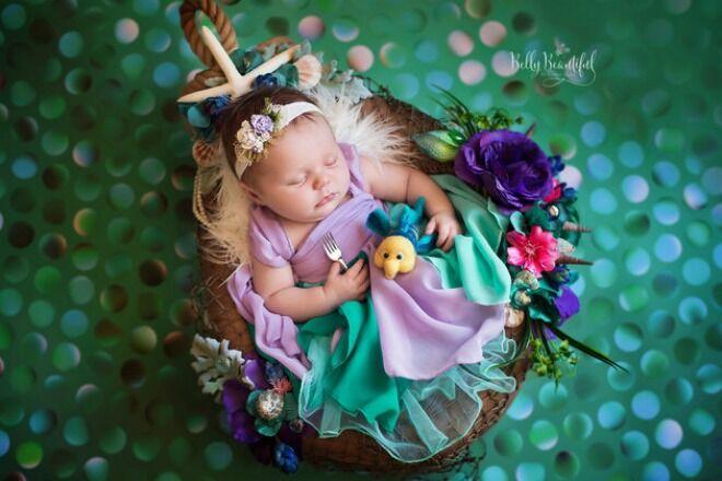 Ariel Disney Princess Belly Babies