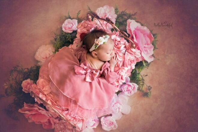 Princess Aurora Belly Babies Photoshoot